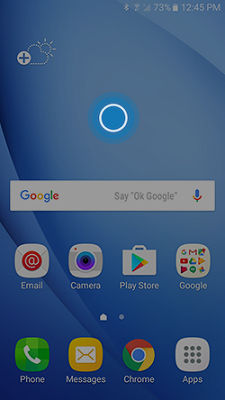 Galaxy j3 how do i change the home screen and lock for Change background wallpaper your home screen