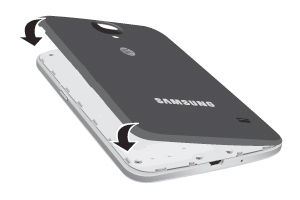 Samsung replace the back cover