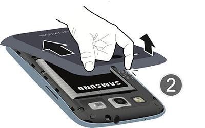 Samsung remove back cover