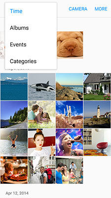 Samsung view pictures and video
