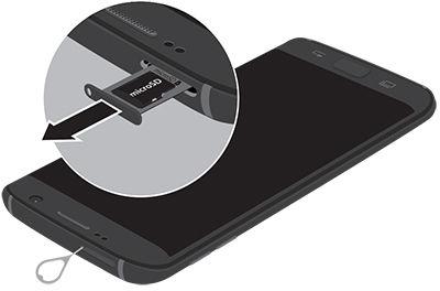 Samsung S7Edge Remove microSD Card