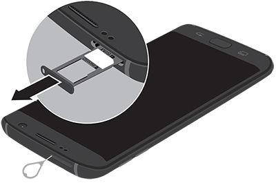 Samsung S7Edge microSD Insert Ejector Tool