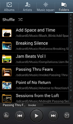 Samsung Galaxy Stellar Music Player