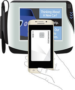 Make a Payment With Samsung Pay