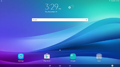 Samsung Galaxy View Setup Multiple Users