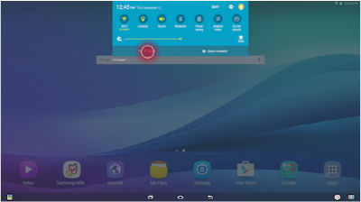 Samsung Galaxy View Search Content Finder S