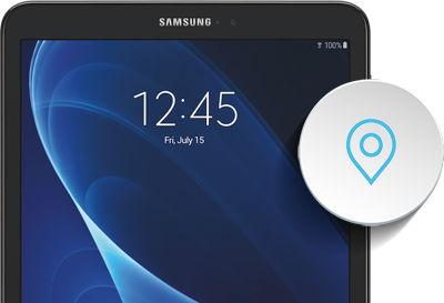 Samsung Galaxy Tab A Location Settings