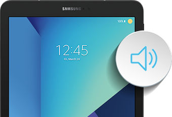 Galaxy Tab S3 Volume and notification sounds
