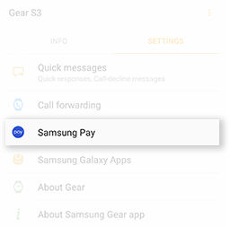 Samsung GearS3 Non Android Phone Samsung Pay