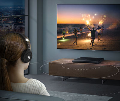 UHD Blu-ray Player M9500 Connecting Bluetooth Headphones