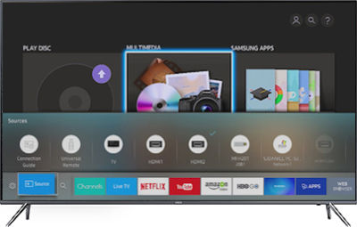 how to add a device to samsung smart tv