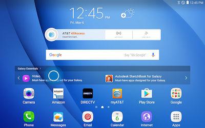Samsung Touch Galaxy Essentials Widget