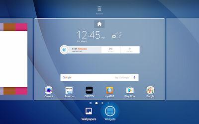 Samsung Touch Widgets