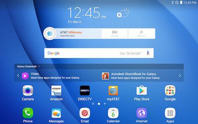 Samsung Widget Home Screen