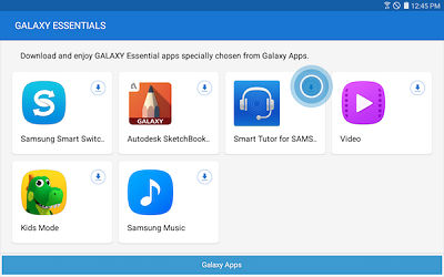Samsung Touch App to Download