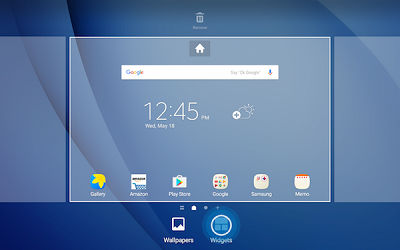 Samsung Touch Widgets