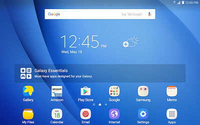 Samsung Widget Released to Home Screen