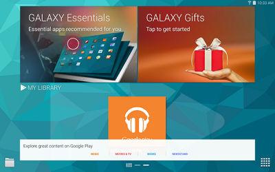 Samsung Galaxy Tab S Galaxy Essentials