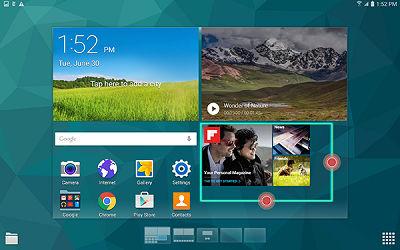 Samsung Galaxy Tab S Widget