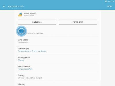 Samsung Galaxy Tab S2 Move Apps to microSD Card