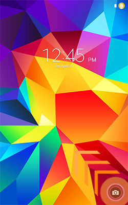 Samsung Galaxy Tab 4 Camera from Lock Screen