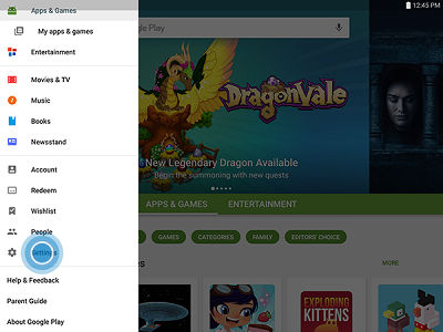 Samsung Galaxy Tab S2 Disable Auto Update