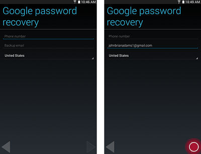 Google Account on your Tab 4 7.0