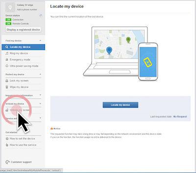 Samsung Click On Unlock My Screen