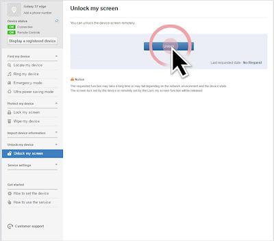 Samsung Click Unlock