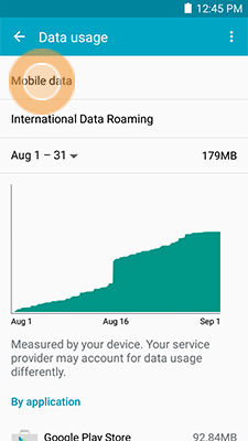 Galaxy Mega 2_Data usage_Mobile data