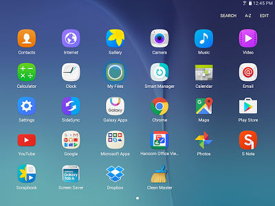 Samsung Galaxy Tab S2 Storage Location and Move Files to the MicroSD Card