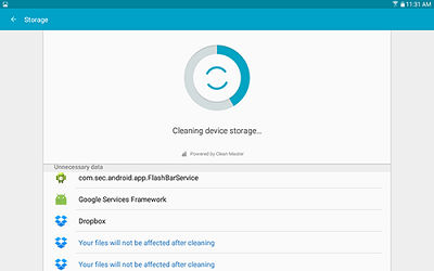 samsung galaxy tab a how to clean up miscellaneous files