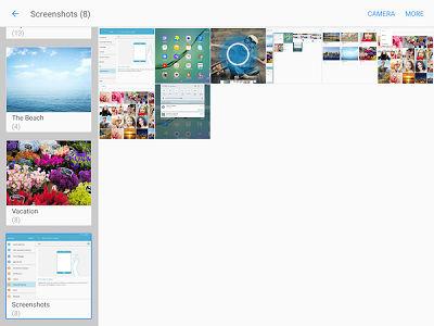 Samsung Galaxy Tab S2 Screenshot