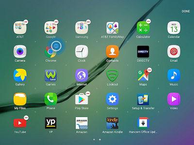 Samsung Galaxy Tab S2 Uninstall or Turn Off App