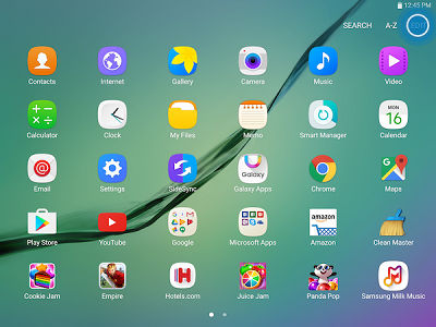 Samsung Galaxy Tab S2 Uninstall App