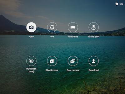 Samsung Galaxy Tab S2 Camera