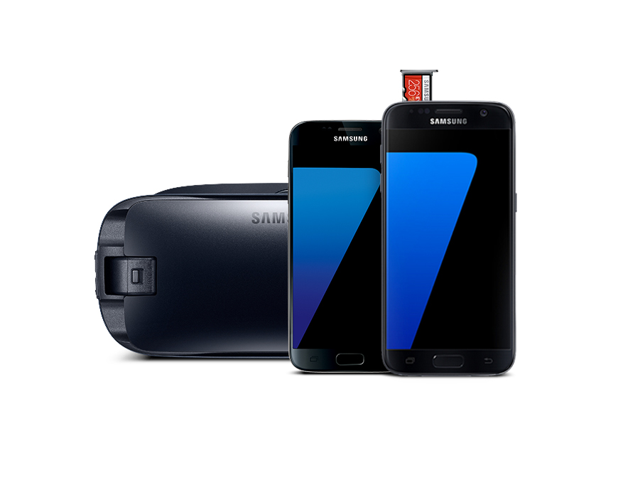 Galaxy S7 edge or Galaxy S7 Gear VR bundle