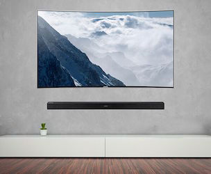 Mount Your Soundbar On The Wall Hw K950 And Hw K850