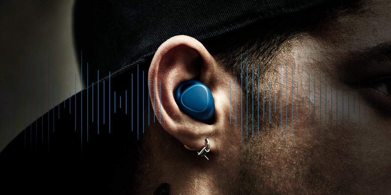 Small headphones. Big playlist.