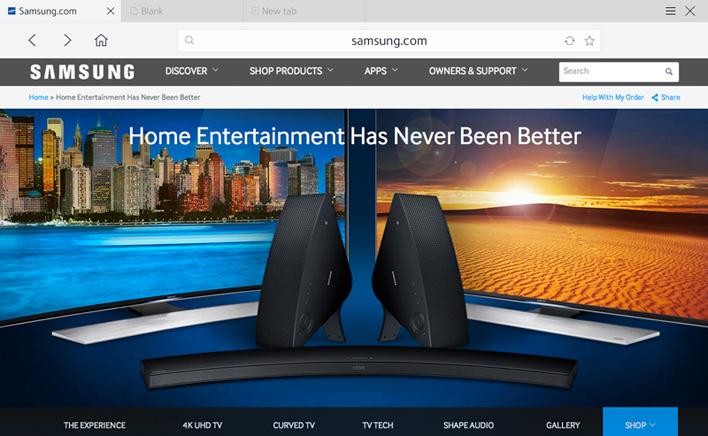 samsung smart tv web browser - Best Buy