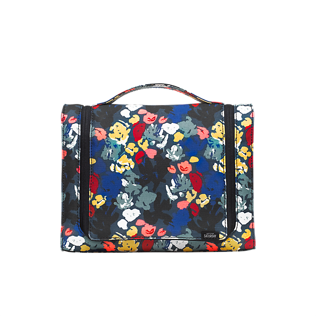 Sale alerts for Kate Spade Saturday Let's Hang Cosmetic Case in Painted Floral - Covvet
