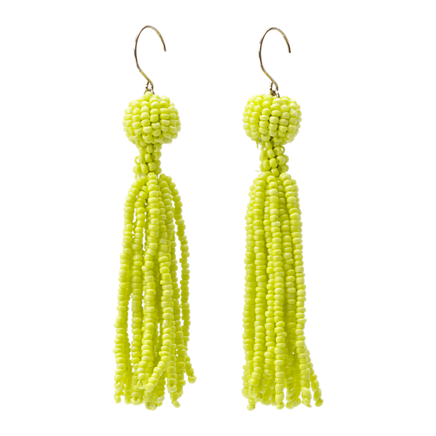 Sale alerts for Kate Spade Saturday Seed Bead Tassel Earrings - Covvet