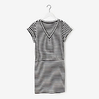 Call Me Dress in Stripe