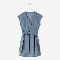 Wrap-It-Up Dress in Denim