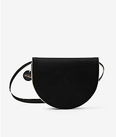 Half-Circle Bag in Leather