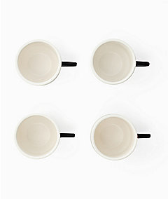 Half-Circle Stacking Mugs