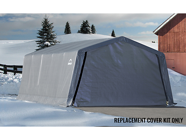 Shelterlogic Garage Replacement Covers : Replacement cover kit for the garage in a box ft