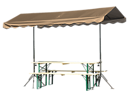 Quick Clamp Outdoor Shade Canopy™