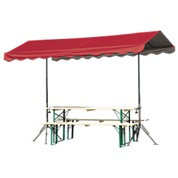 Decorative Shade Series Quick Clamp Outdoor Shade Canopy™