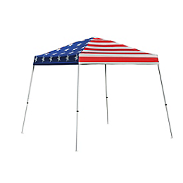 Pop-Up Canopy HD - Slant Leg - 10 x 10 ft. American Pride